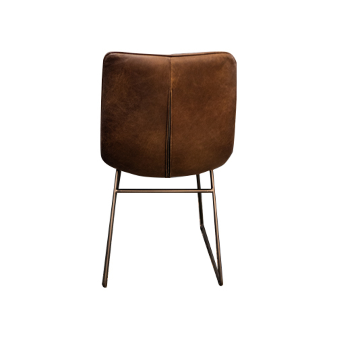 Amalfi Leather Dining Chair image 3