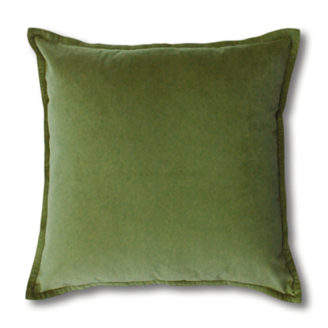 Mira Leaf Velvet Cushion image 0