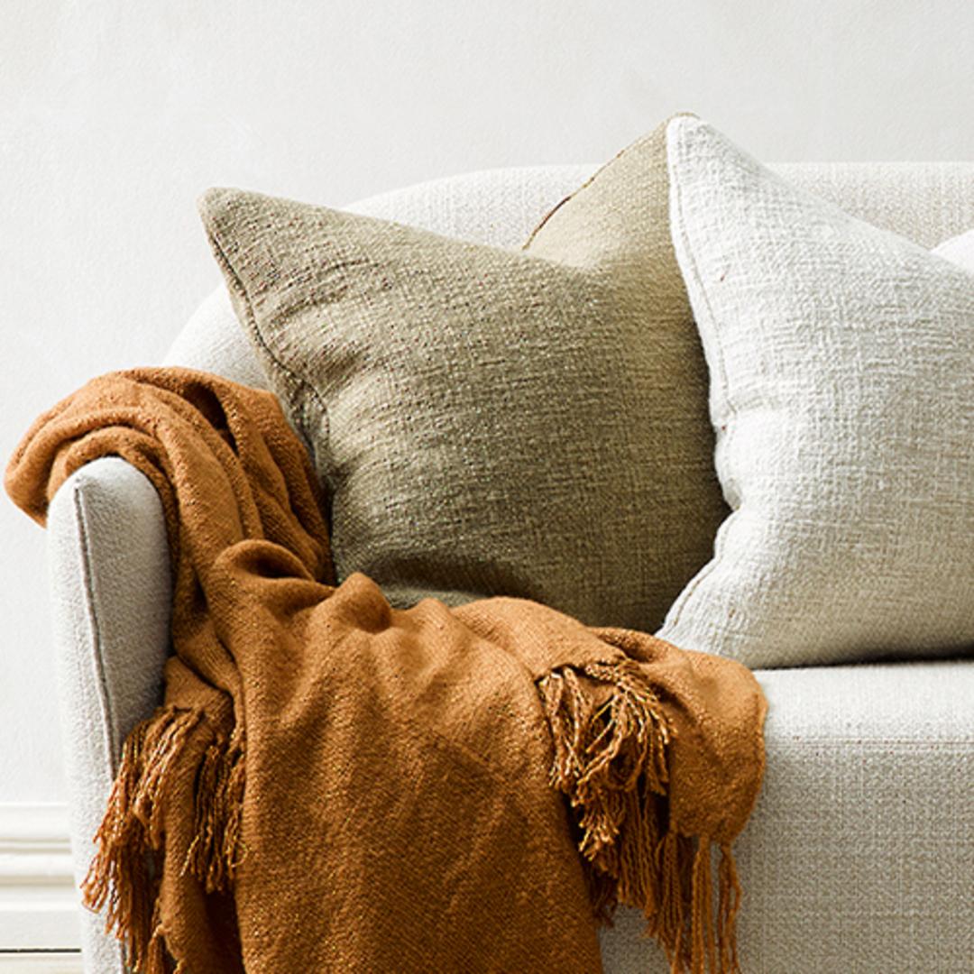 Cyprian Camel Cushion image 1