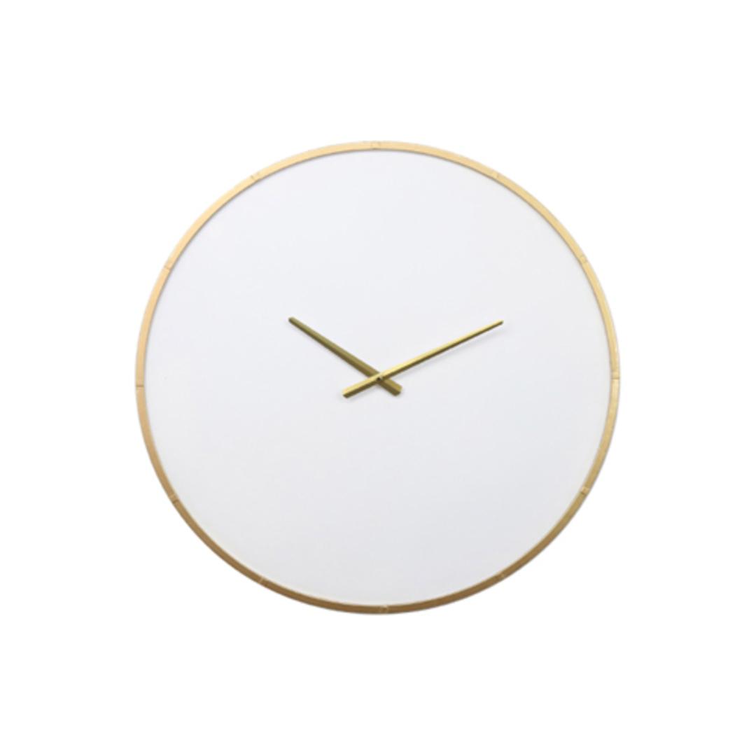 Wyatt Iron Wall Clock image 0