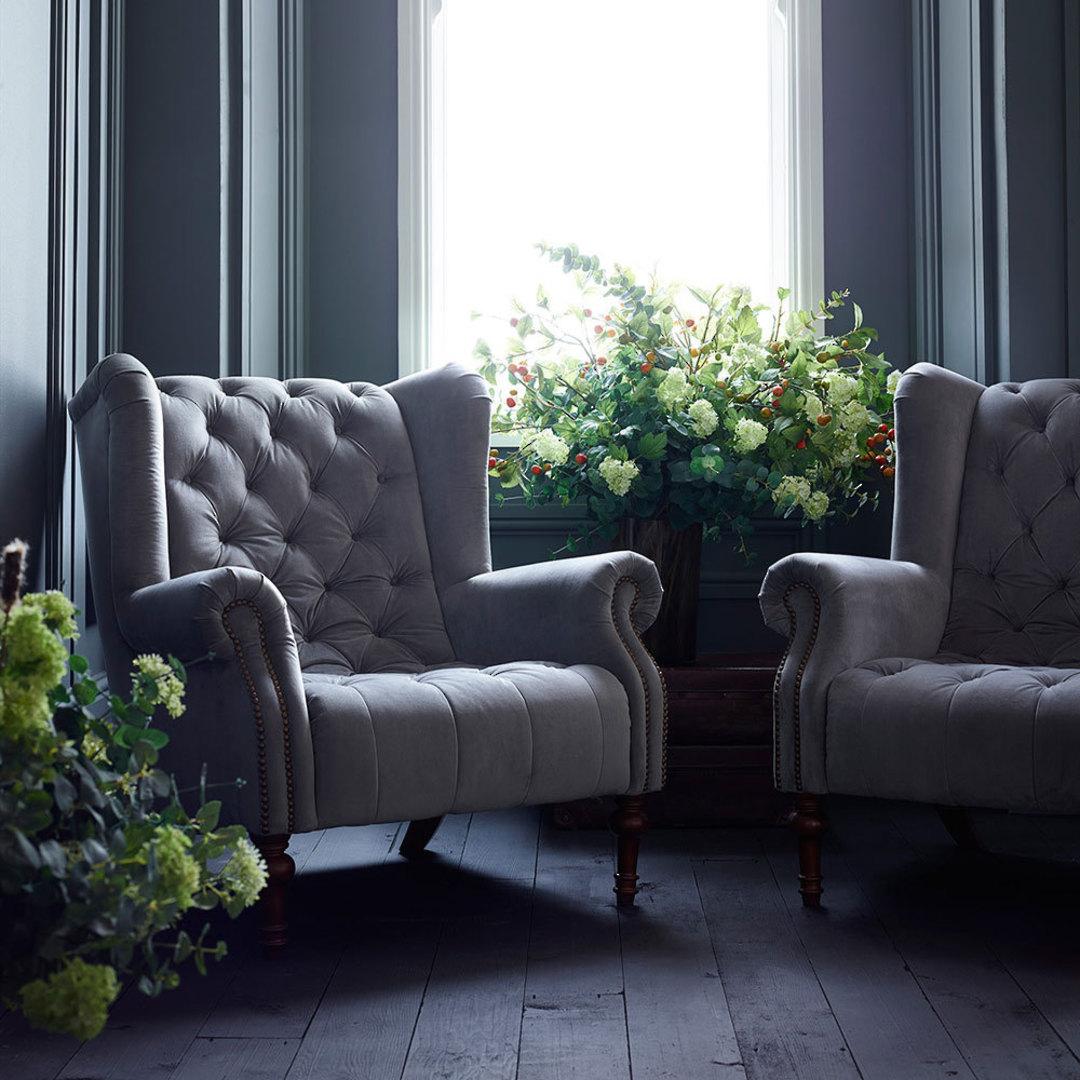 Theo Chair Plush Turmeric image 1
