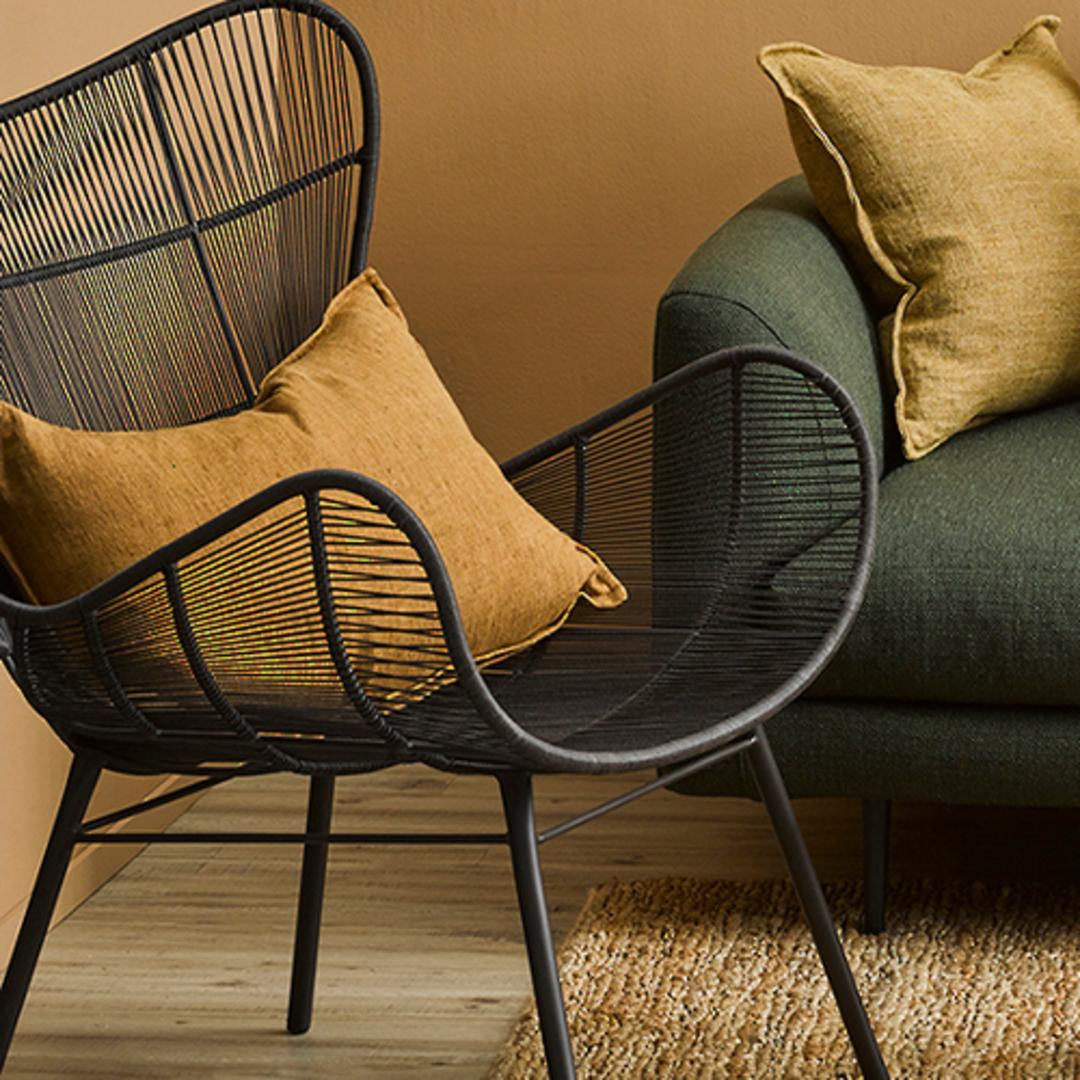 Arcadia Tobacco Cushion image 1