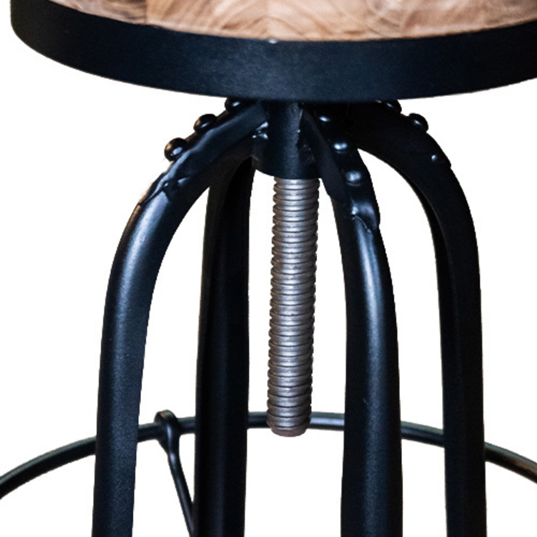 Industrial Bar Stool image 2