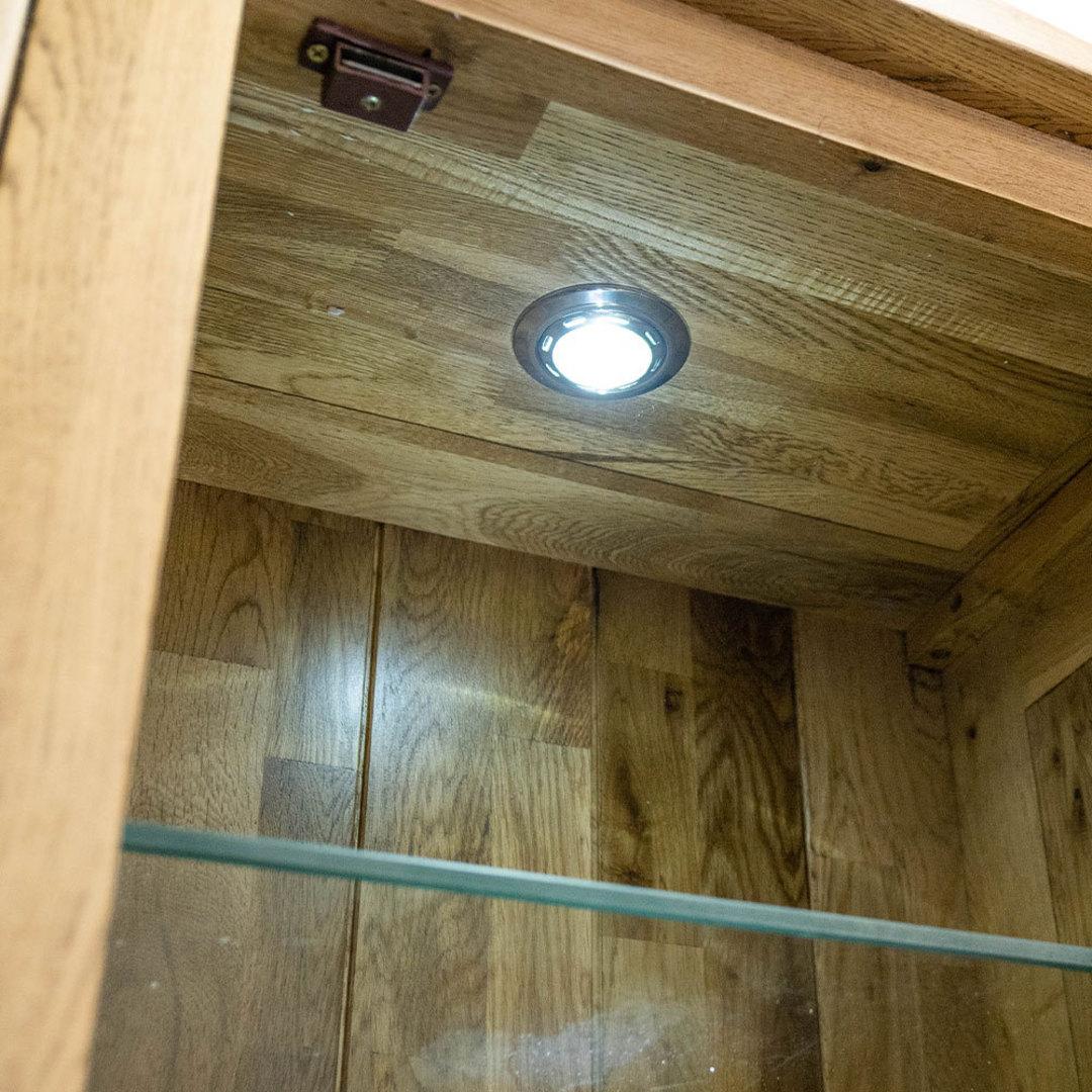 Light Oak Display Cabinet image 4