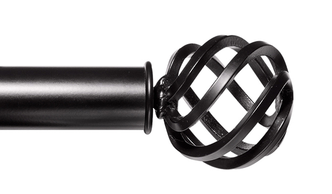 35MM ROUND CAGE FINIAL image 0