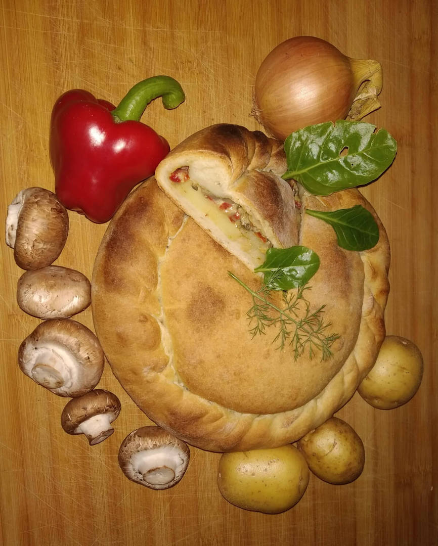Veggies Mushroom Pie image 0