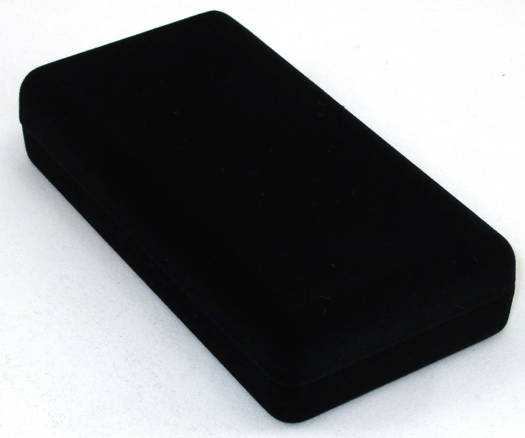 SSLP - LONG PENDANT BOX BLACK FLOCK BLACK PAD image 1