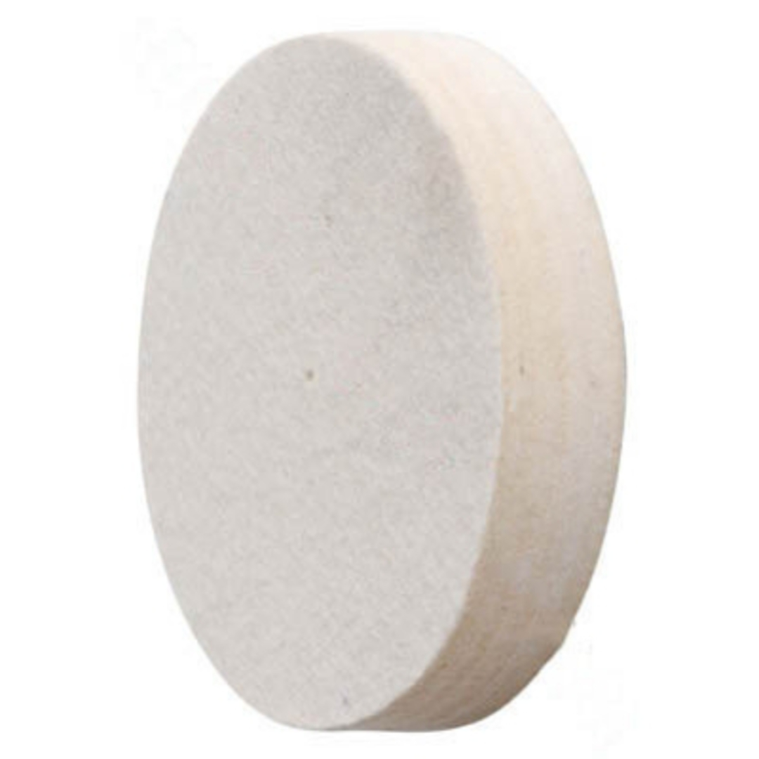 FELT WHEEL 150mm X 25mm (MEDIUM) image 0