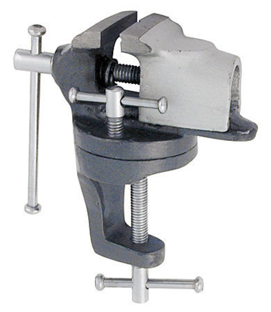 BENCH VICE G-CLAMP SWIVEL BASE TYPE image 0