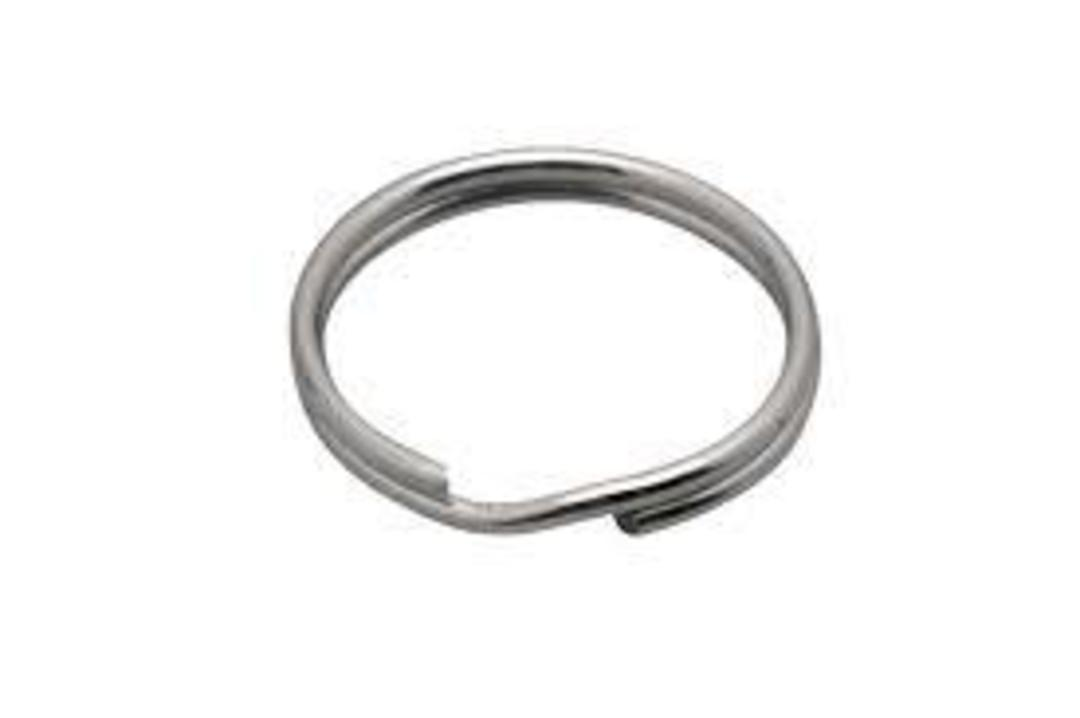 KEY RING DONUT STAINLESS STEEL 25MM BULK (500 PACK) image 0
