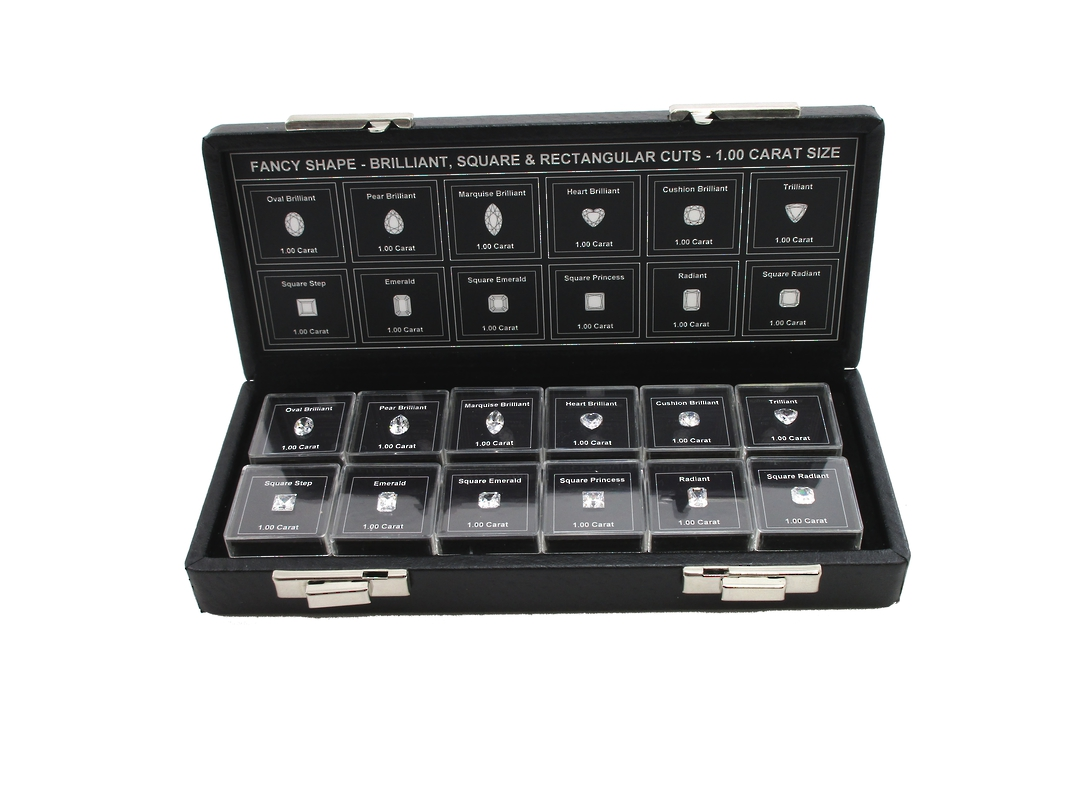 DIAMOND CZ MASTER GRADING SET FANCY SHAPE image 0