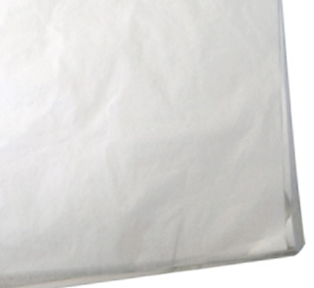 TISSUE PAPER ACID-FREE WHITE 230 x 215MM (100 PCS) image 0