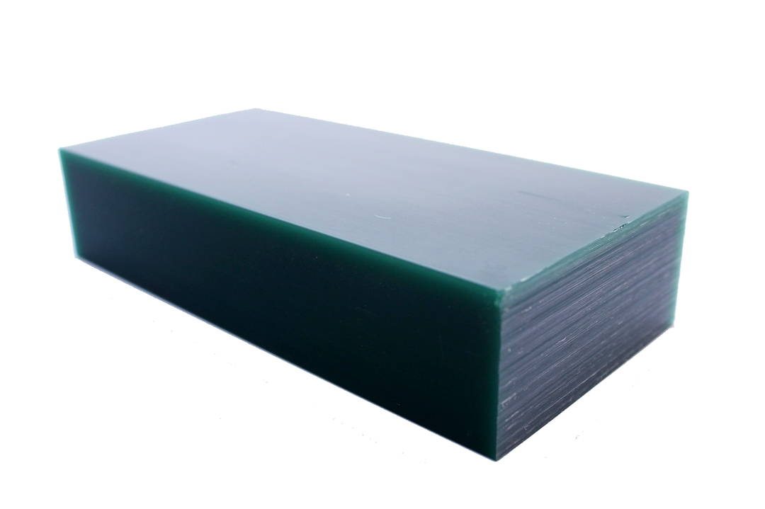 WAX BLOCK Green 1Ib BAR image 0
