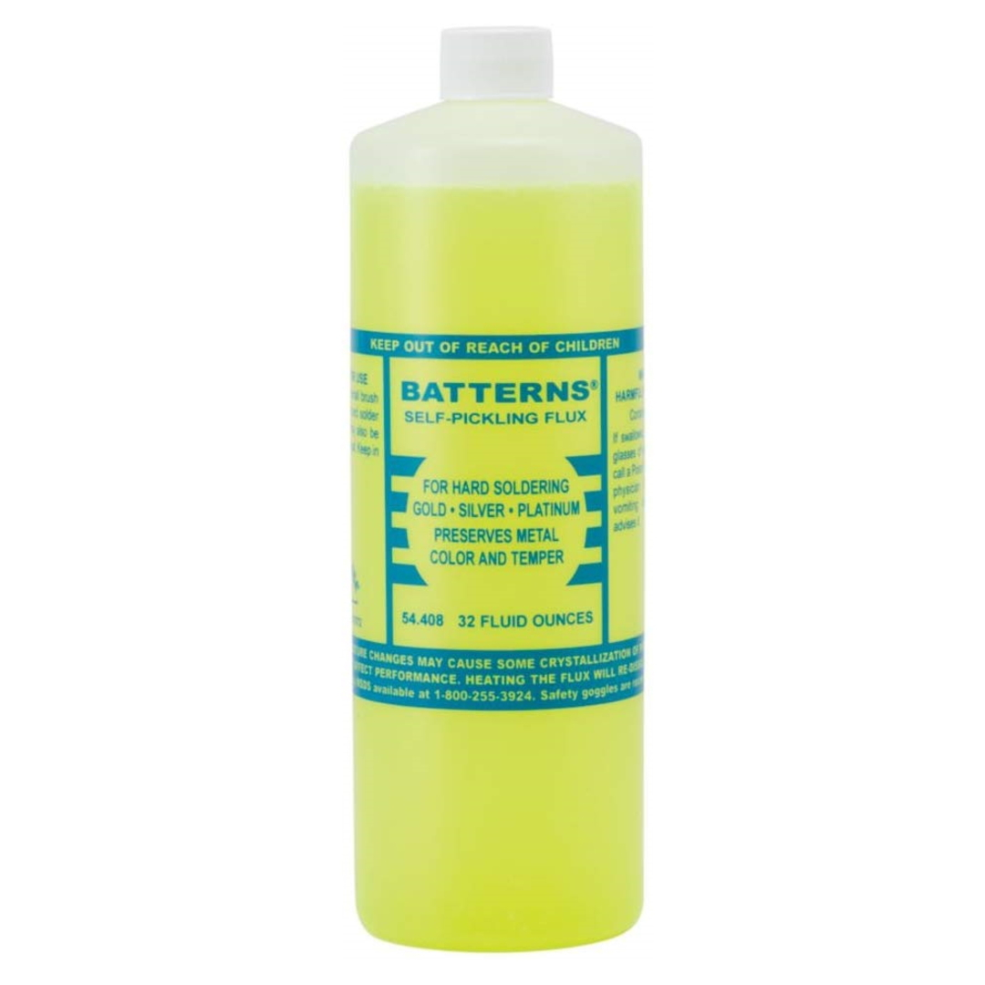 BATTERNS SOLDER FLUX 32oz (946ml) image 0