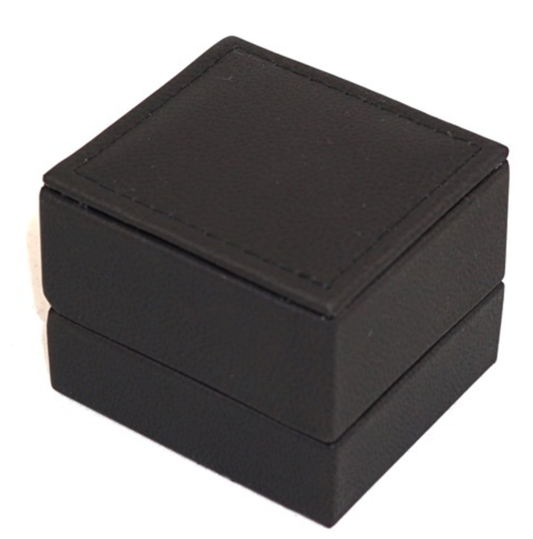 IMR - RING BOX IMITATION LEATHER BLACK BLACK VINYL PAD image 1
