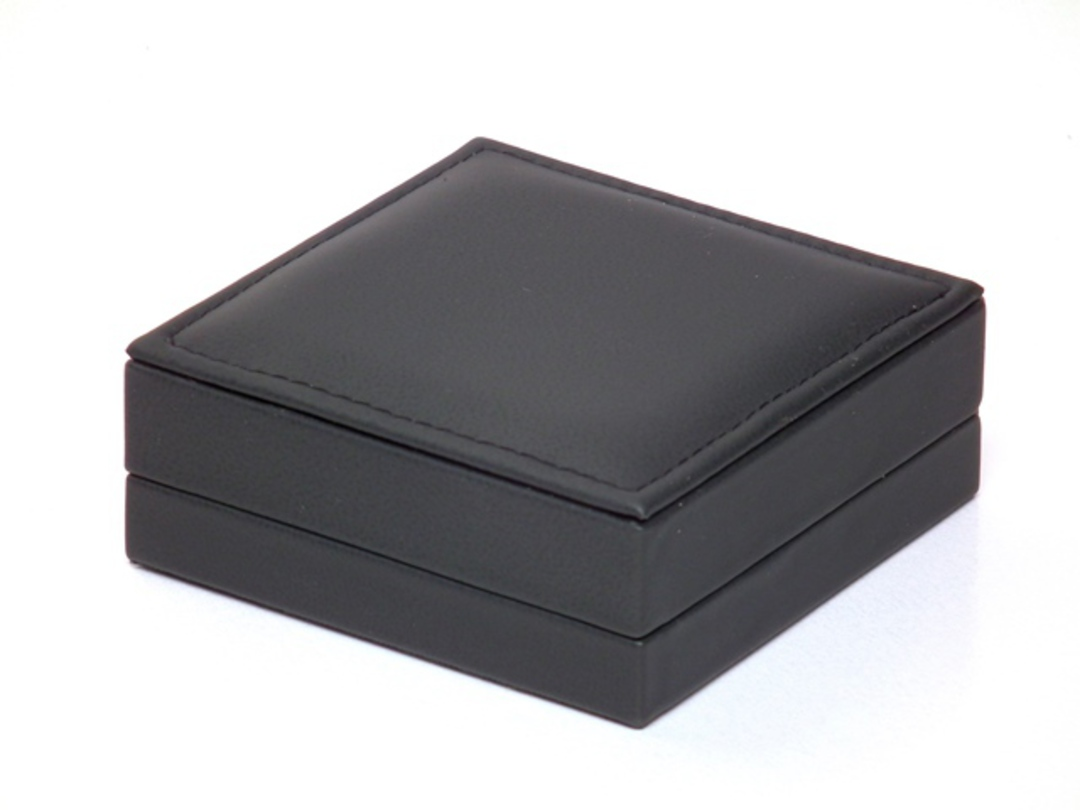 IMB - BANGLE IMITATION LEATHER BOX BLACK BLACK C CLIP image 1