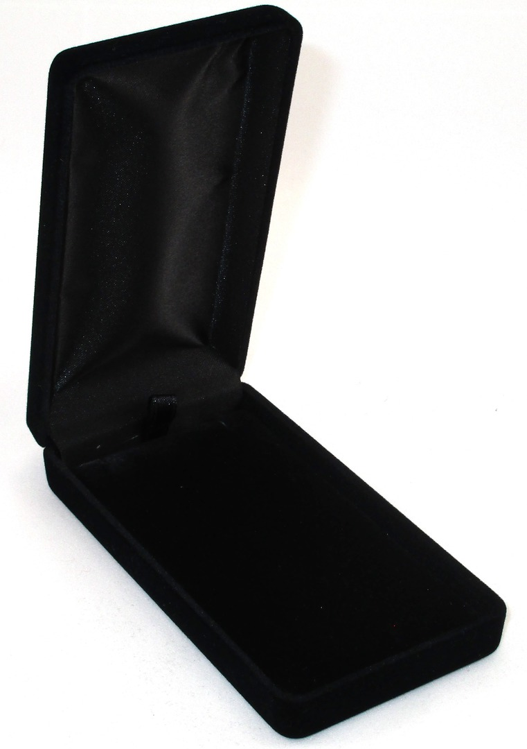 SSLP - LONG PENDANT BOX BLACK FLOCK BLACK PAD image 0