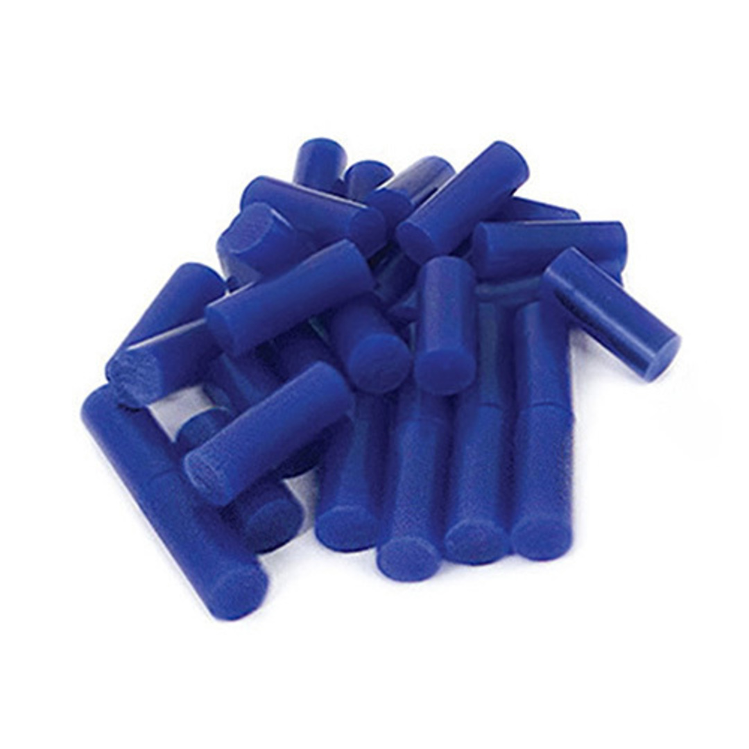 MATT WAX PELLETS BLUE - 20 pieces image 0