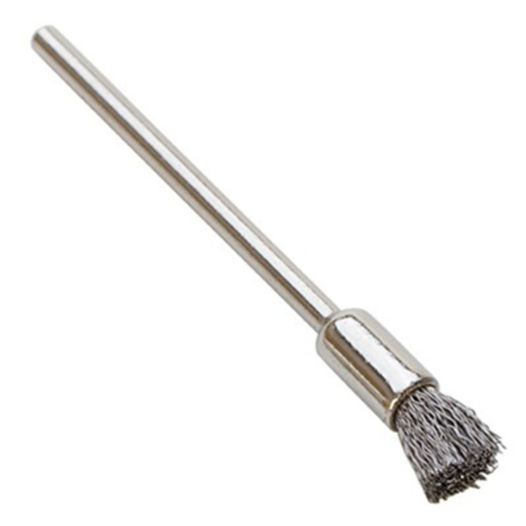 STEEL WIRE END BRUSH 7mm x 5mm image 0