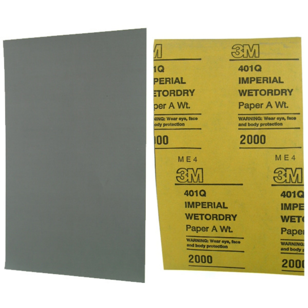 3M IMPERIAL WETODRY PAPER 2000 GRIT image 0