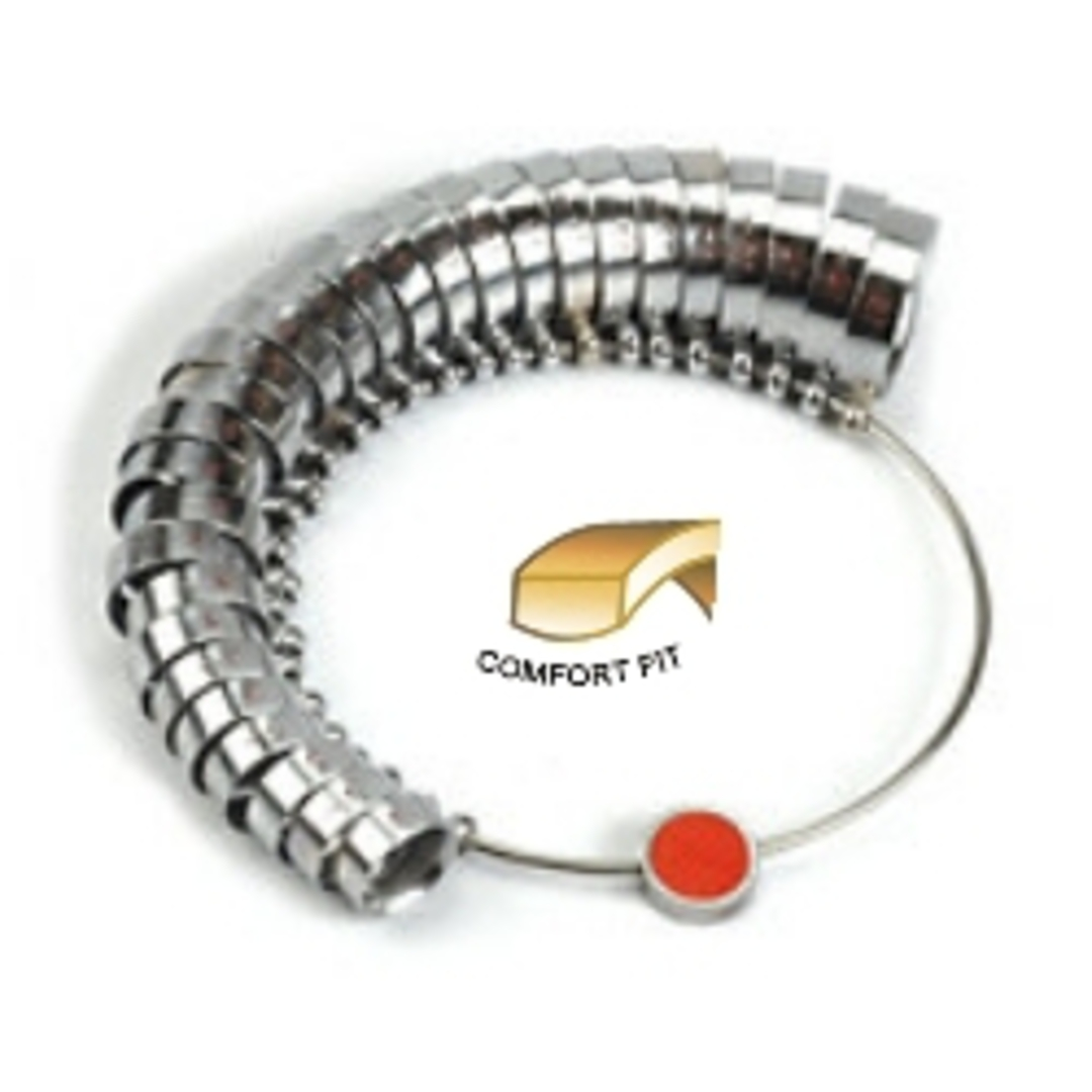 RINGSIZES 6mm WIDE COMFORT FIT A - Z + 6 image 0