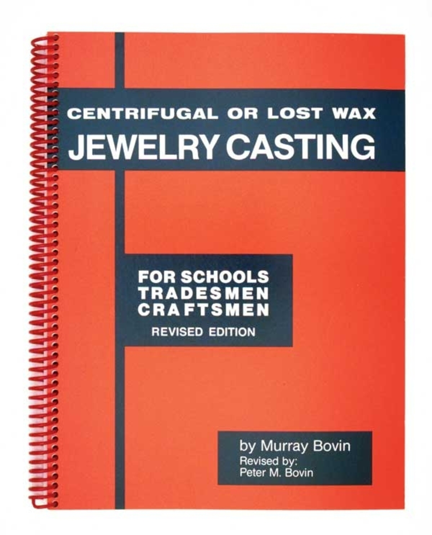 CENTRIFUGAL OR LOST WAX CASTING JEWELRY CASTING BOOK image 0