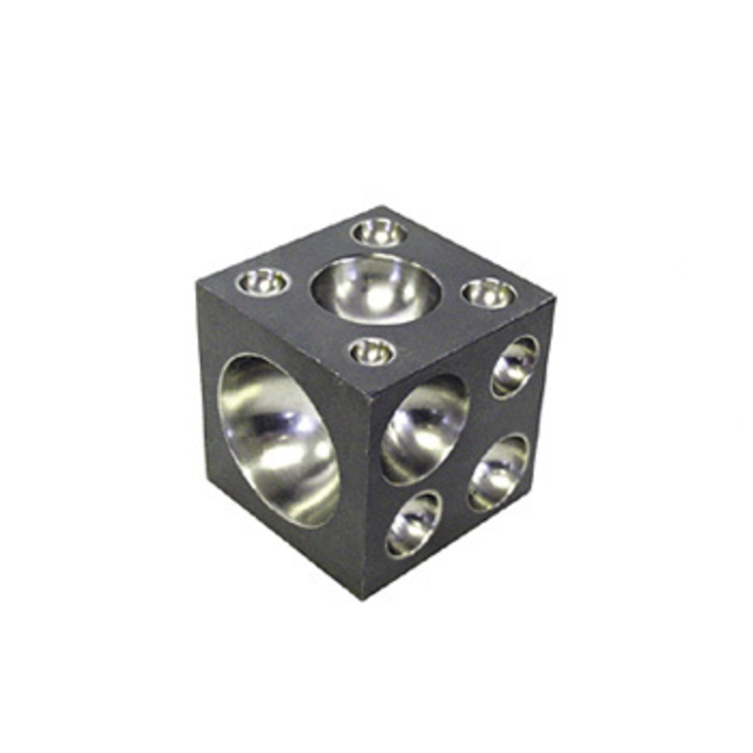 DOMING CUBE HARD STEEL 50mm SQUARE image 0