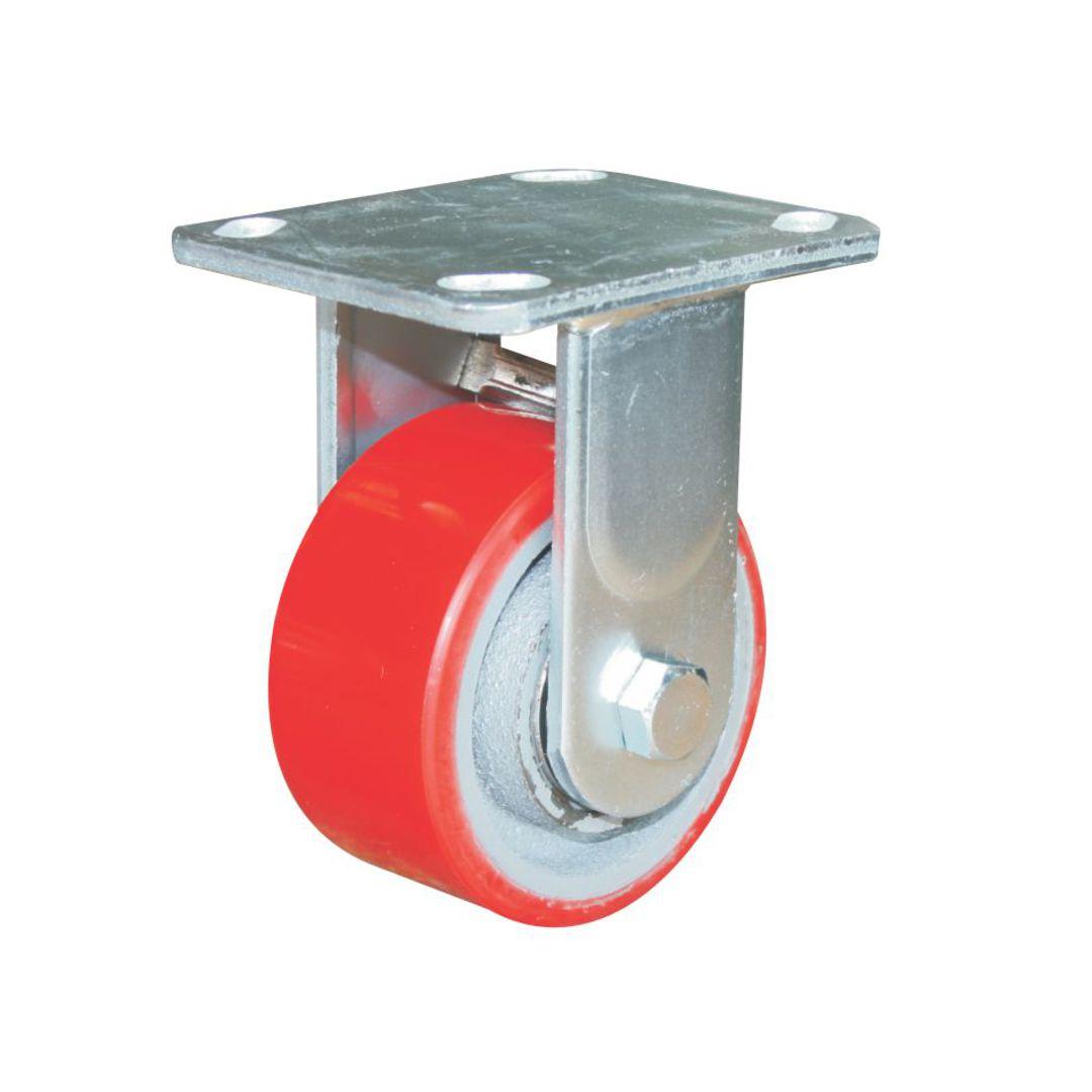 Fixed 100mm Urethane Castor - WXU100/F image 0