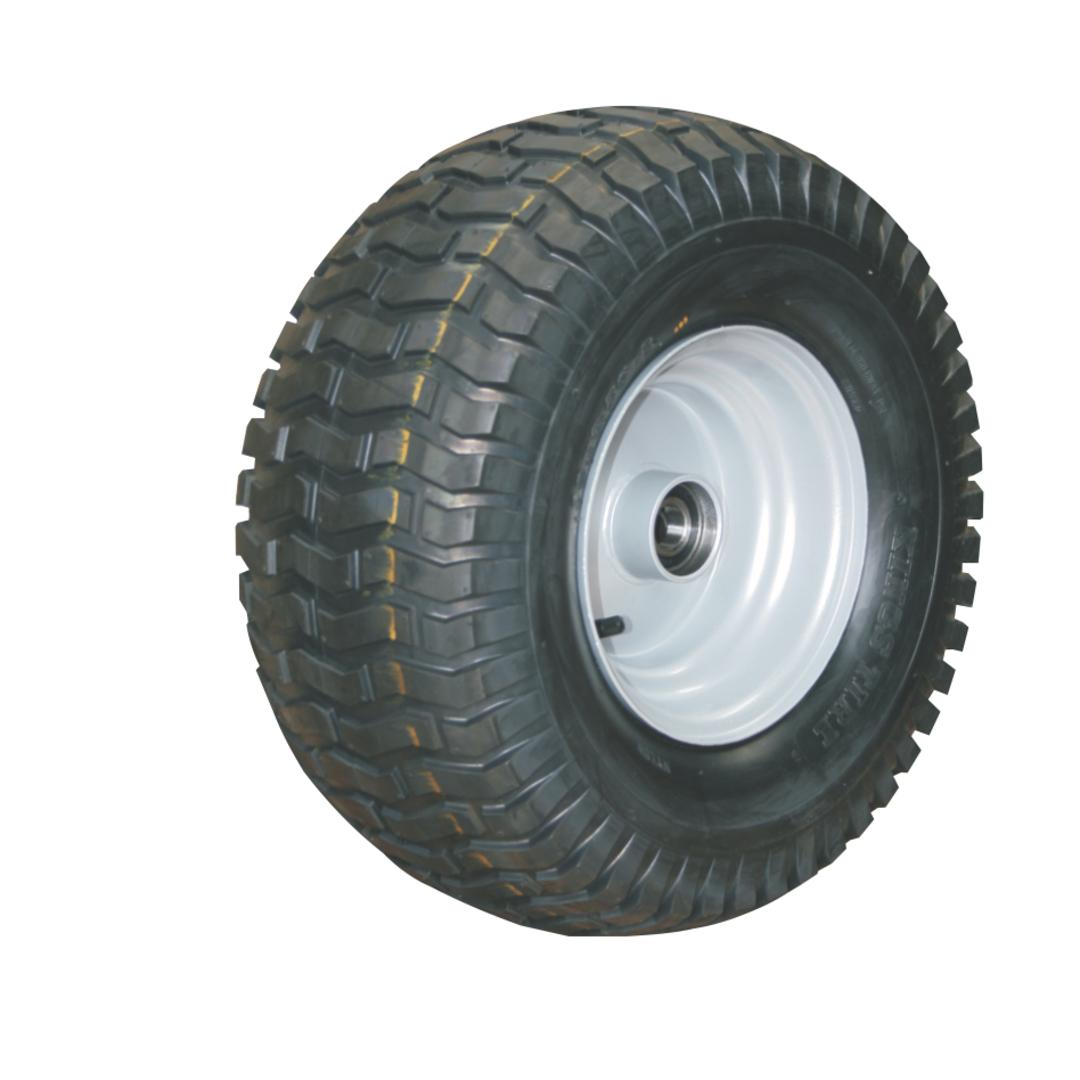 Pneumatic Wheel - Steel Rim - 16/650x8 Turf - RWX200-166T image 0
