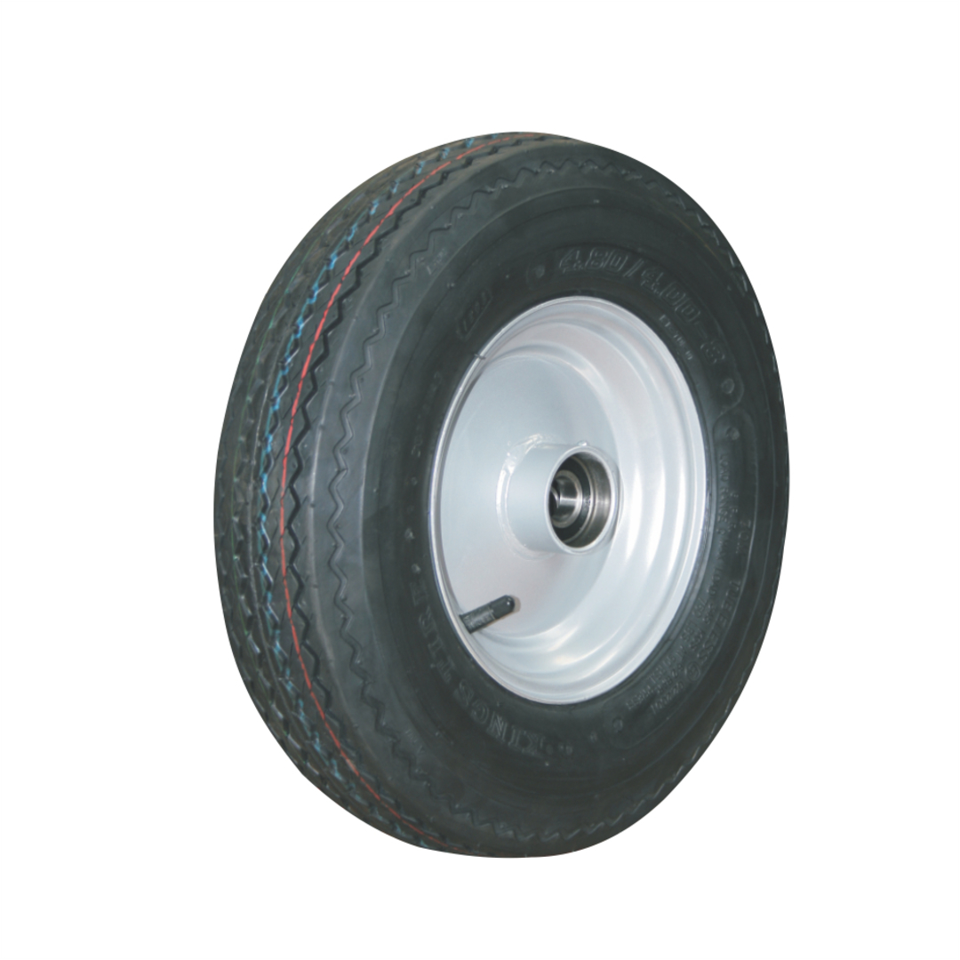 Pneumatic Wheel - Steel Rim - 480/400x8 Road 6ply - RW200-400R6 image 0