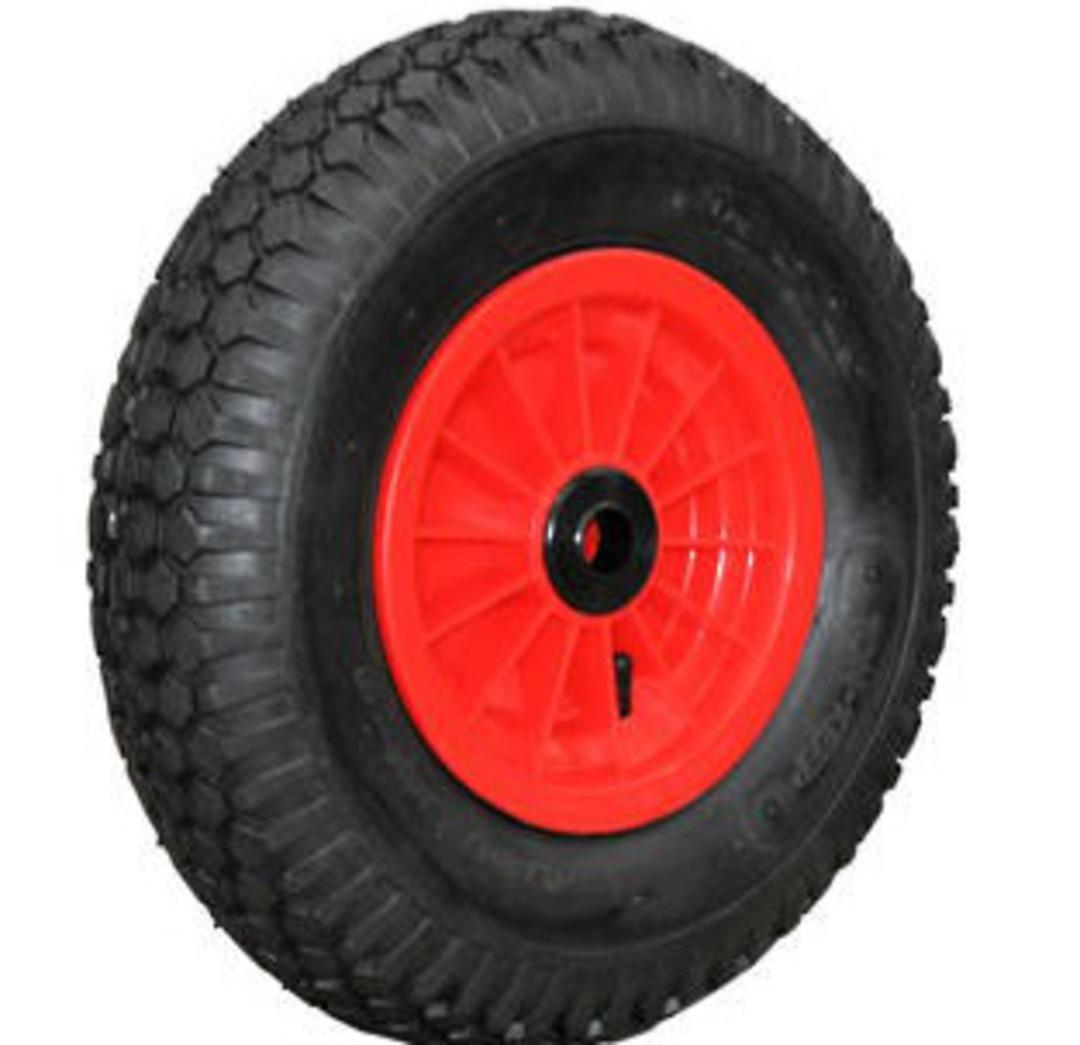 Pneumatic Wheel - Plastic Rim - 480/400x8 Diamond - PW200-400D image 0
