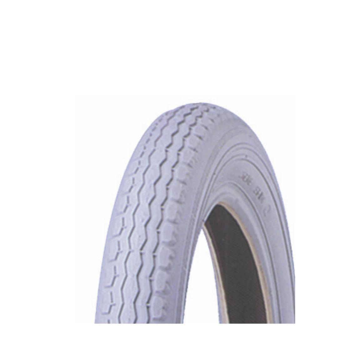 Grey Tyre - 12 1/2 x 2 1/4 Running - 121/2 x 21/4G-C51 image 0