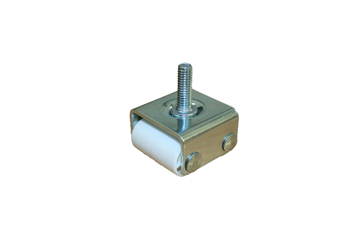 Fixed Twin Roller Castor 22mm - 5/16 Thread - ACN22 image 0