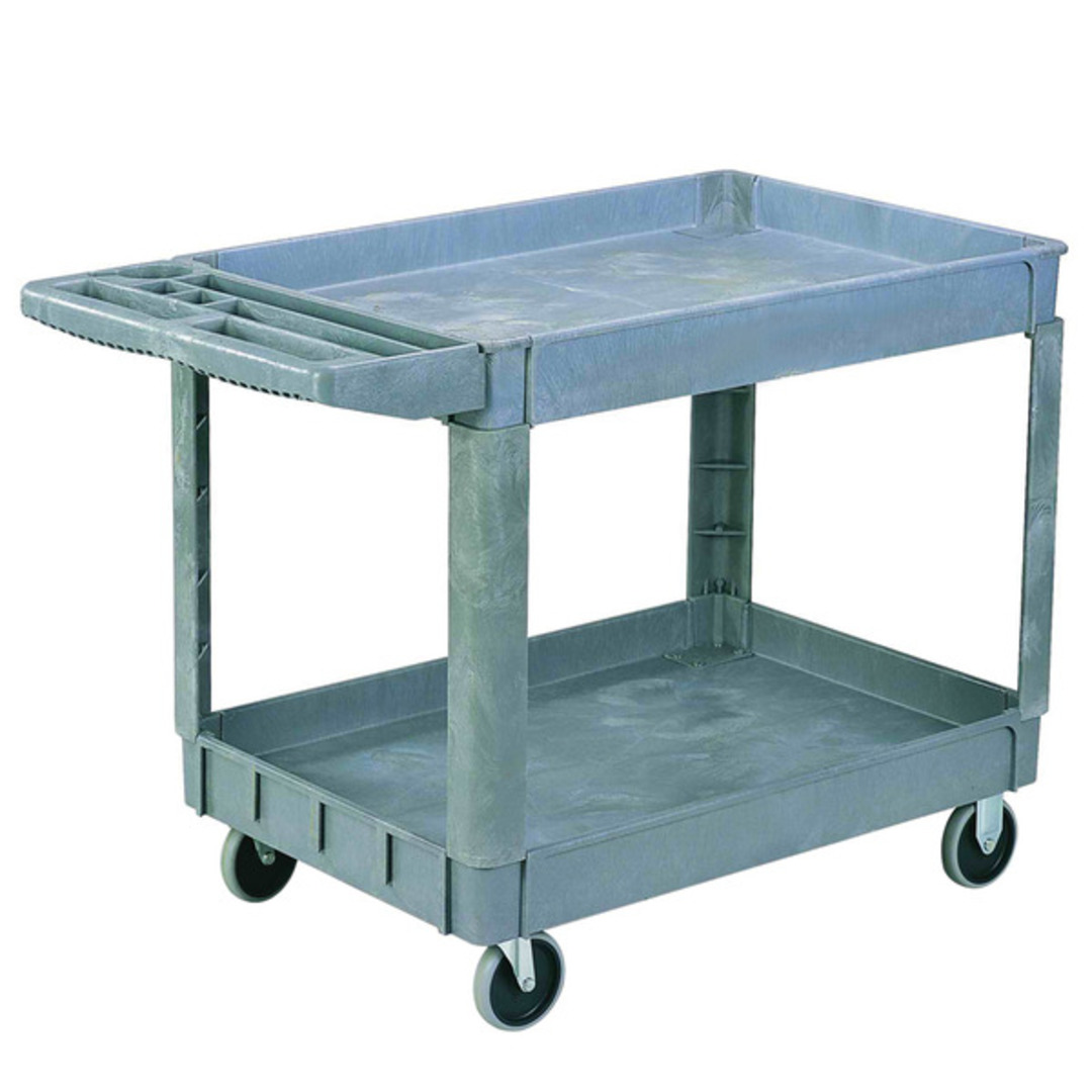 Plastic Shelf Trolley - Two Tier - SC950-2 image 0