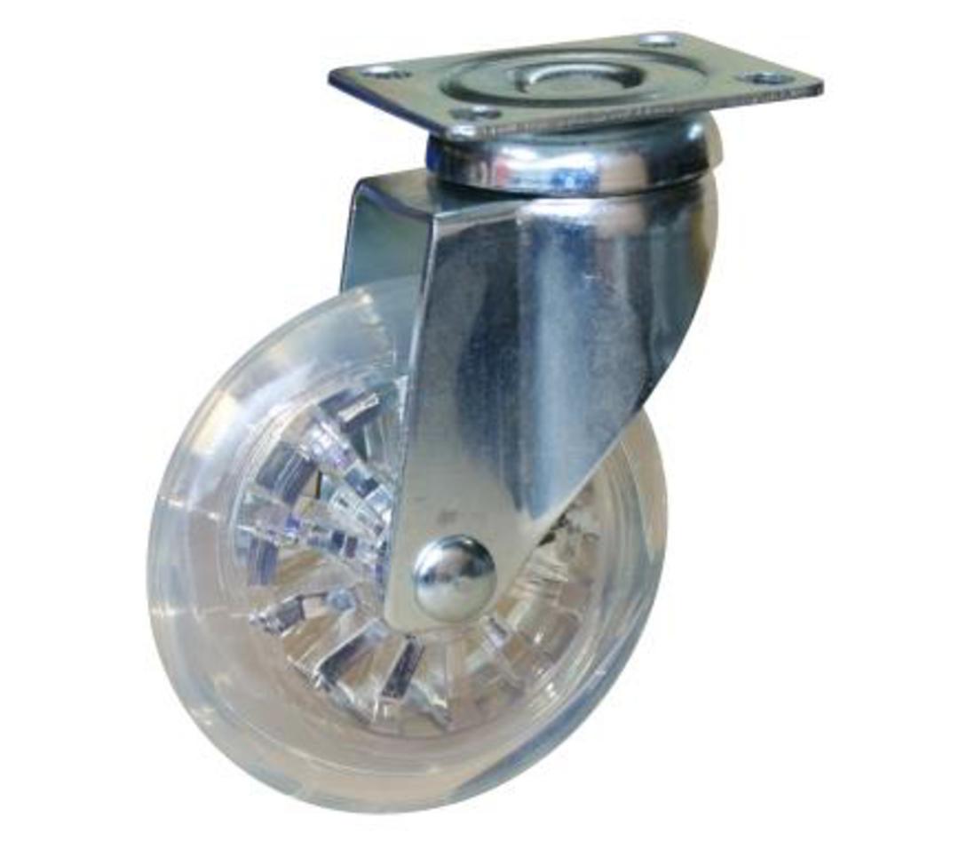 Swivel 75mm Urethane Castor - WLPU75/P image 0