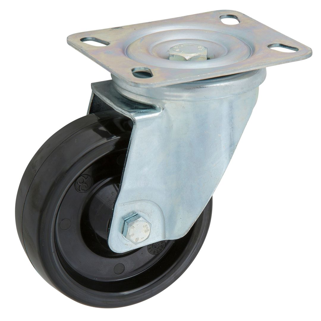 Swivel 100mm Super Tuff Castor - High Temperature - MCP100/P-HT image 0
