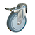 Click to swap image: 01442-125mm-32mm-Grey Rubber-120kg-Ball-158mm-Total Braked-110mm-12mm
