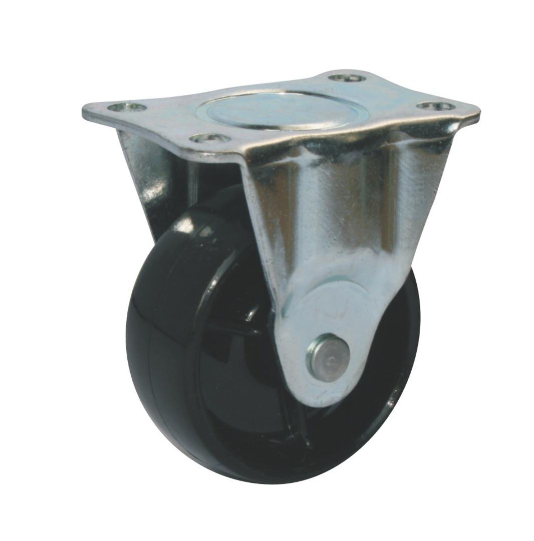Fixed 50mm Nylon Castor - WLN50/F image 0