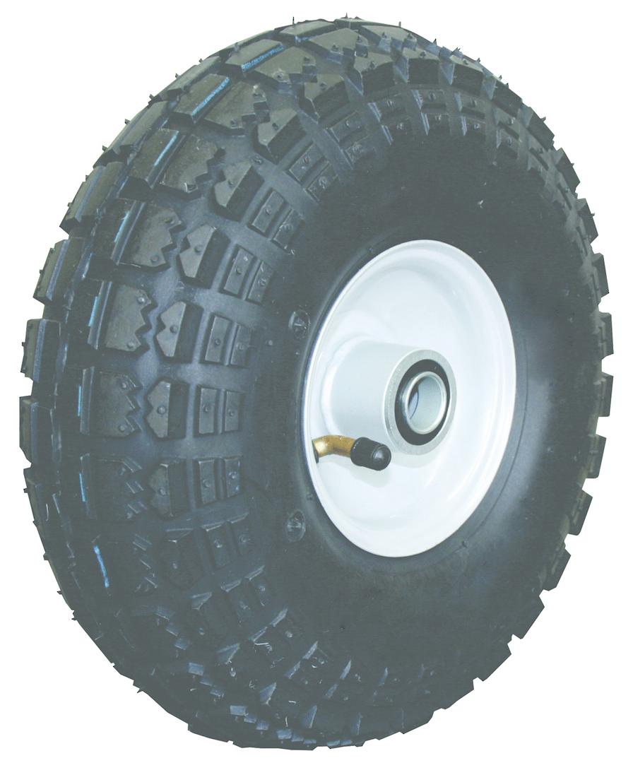 Pneumatic Wheel - Steel Rim - 410/350x4 Diamond - BWE100-410D image 0