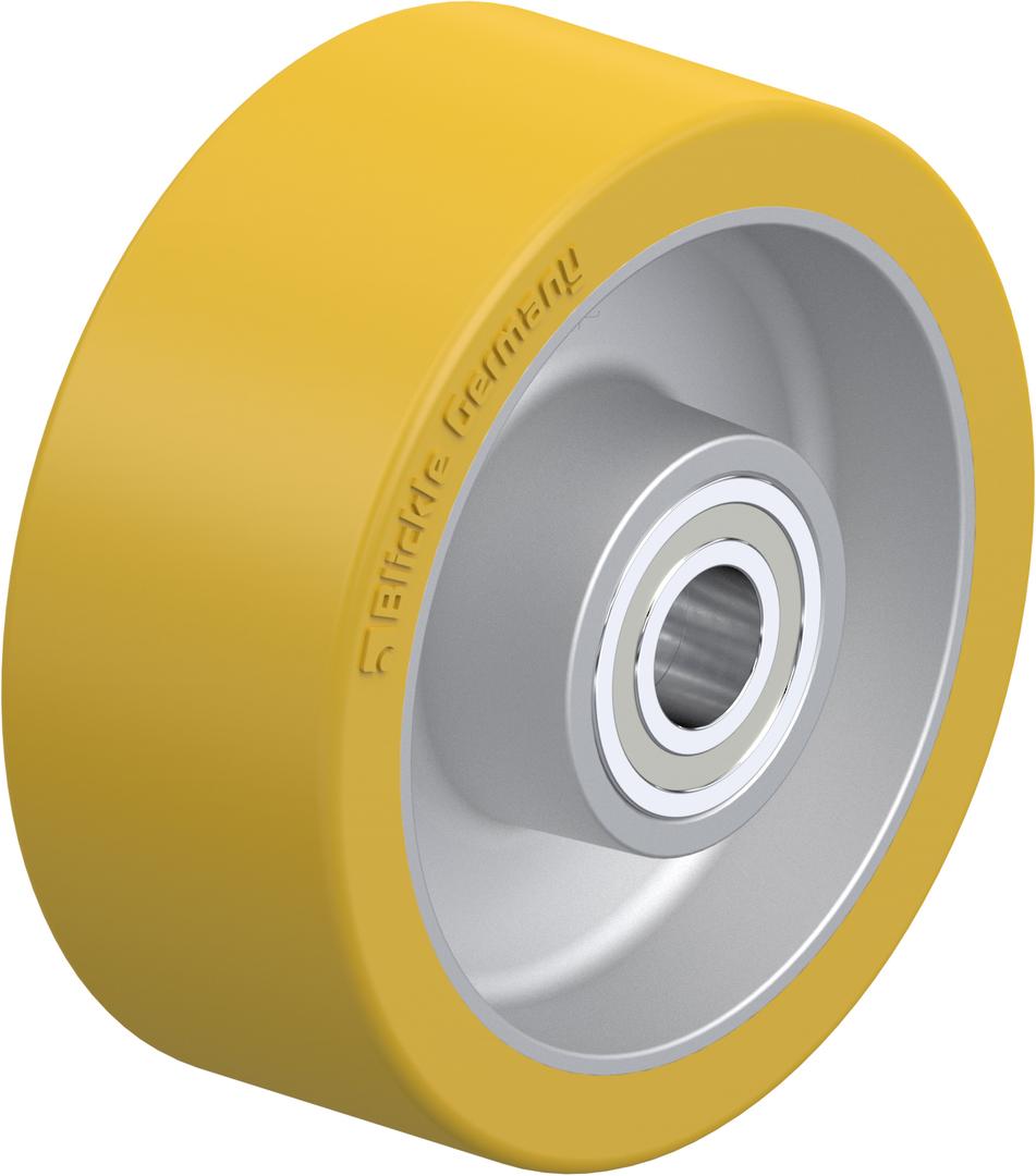 Urethane Wheel 100mm - Aluminium Centre - MAU100 image 0