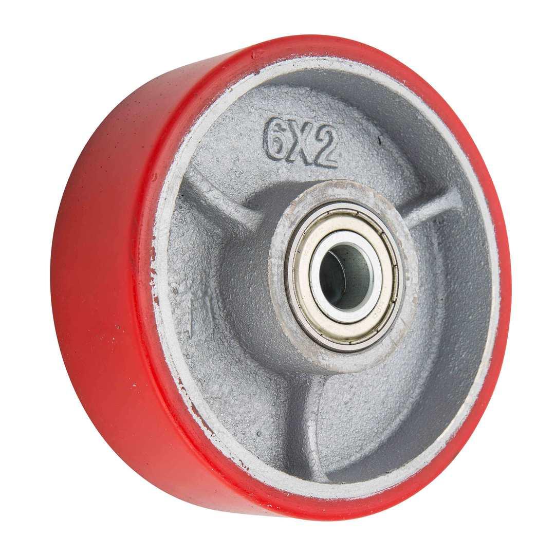 Urethane Wheel 150mm - Cast Iron Centre - WXU150 image 0