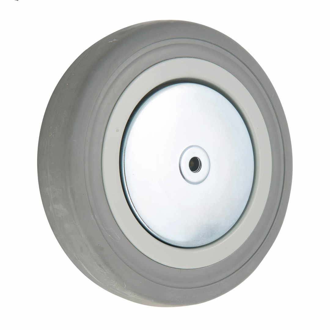 Grey Rubber Wheel 150mm - WCR150 image 0