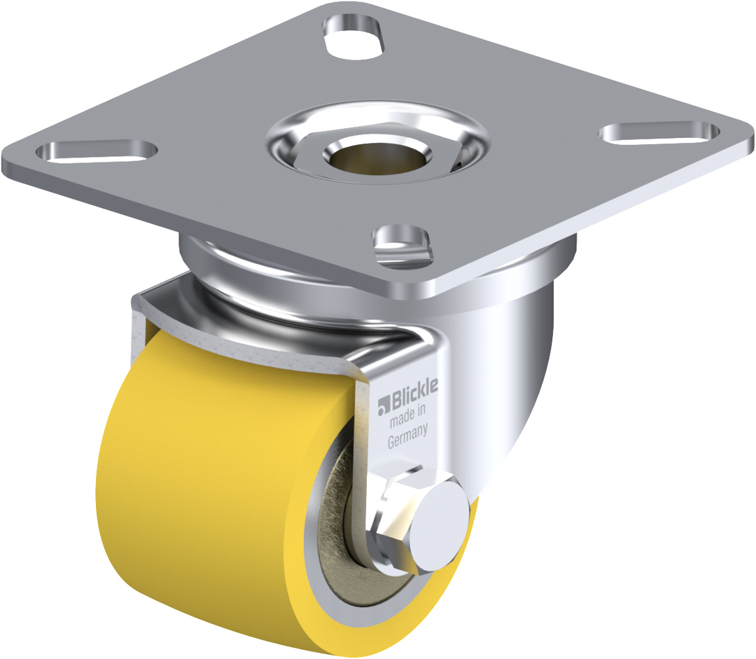 Swivel 35mm Castor -Low Profile-100KG - BHU35/P image 0