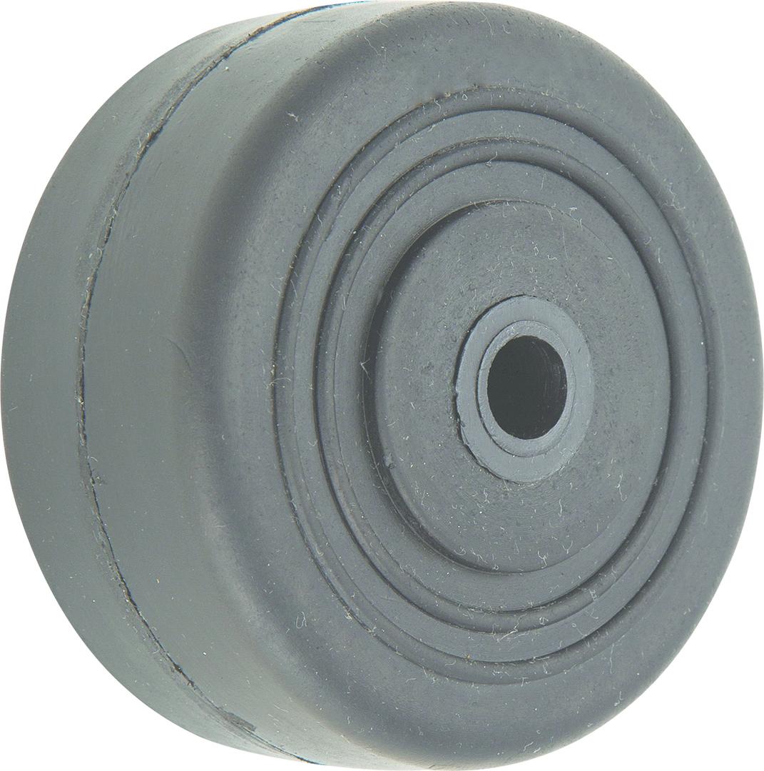 Black Rubber Wheel 50mm - SR50 image 0