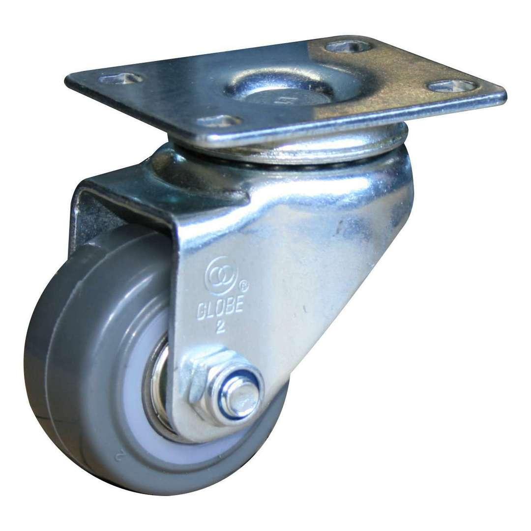 Swivel 50mm Urethane Castor - LRU50/P image 0