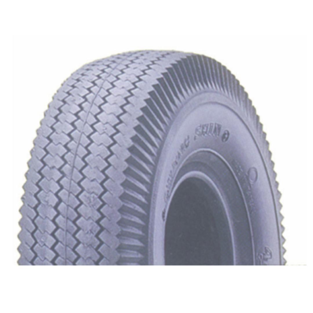 Grey Tyre - 410/350x5 Sawtooth - 410/350x5G-C156 image 0