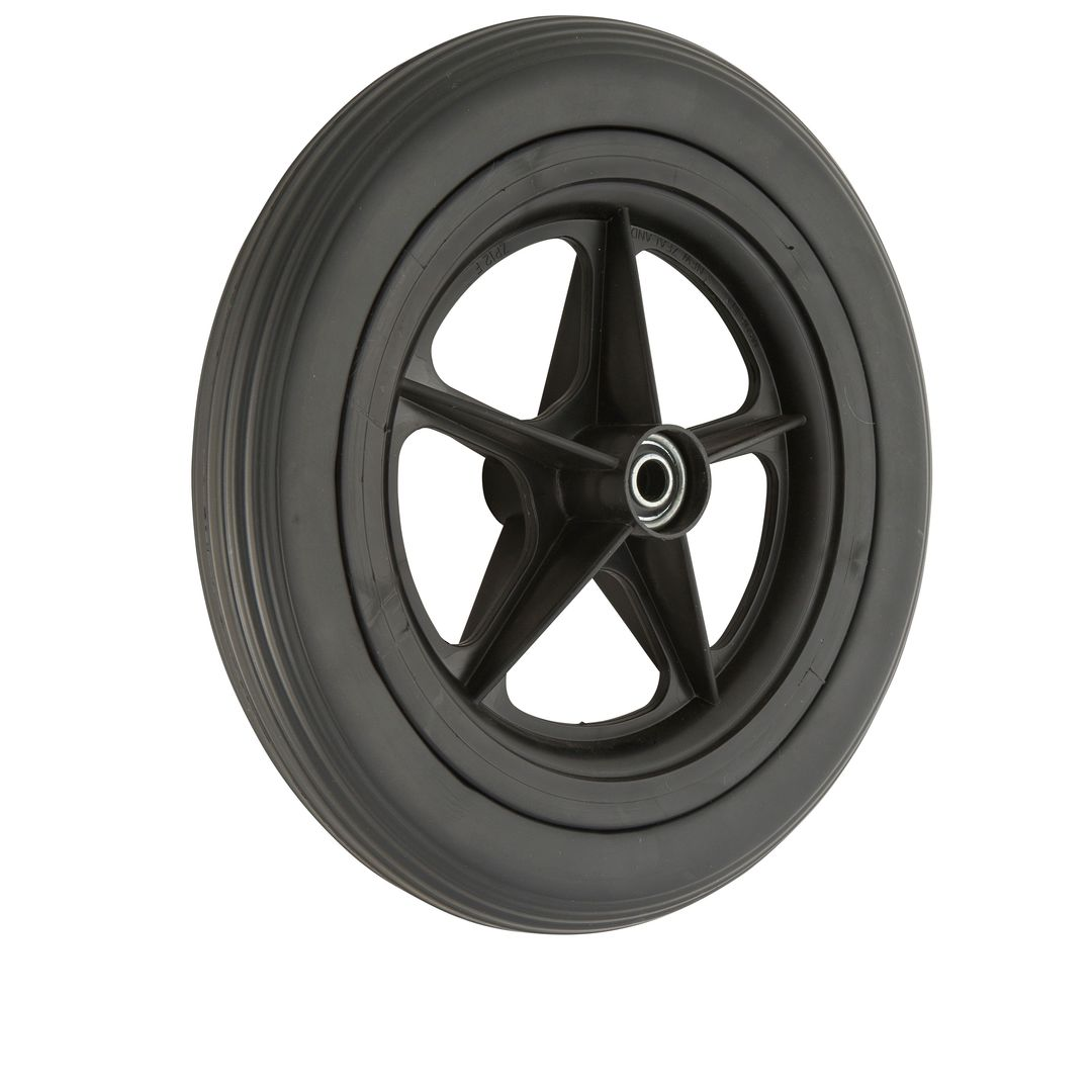 Golfcart 300mm Solid Wheel - GC300BB-EVA image 0
