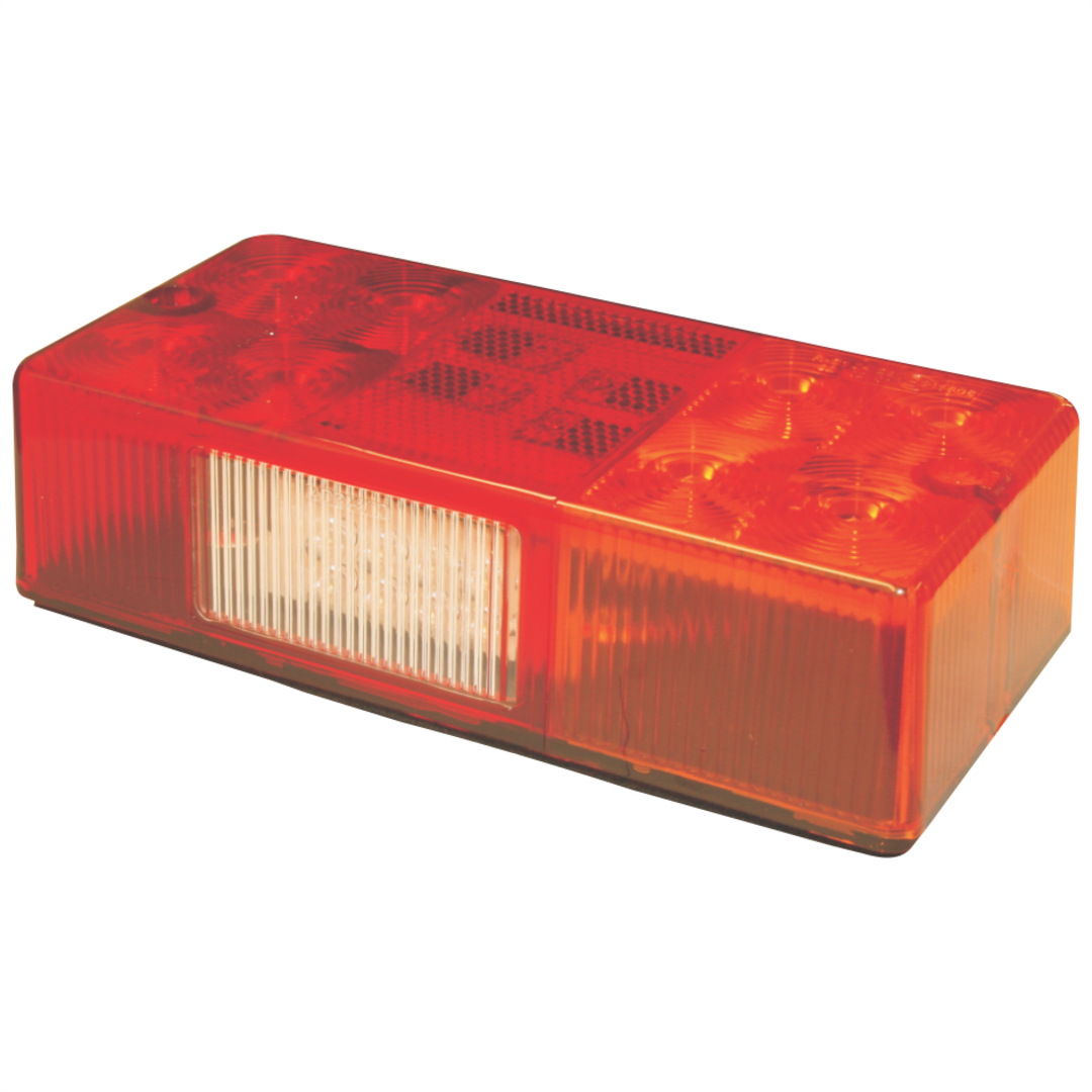 L E D Trailer Light Stop/tail/indicator/Number plate light 9-33Volt image 0