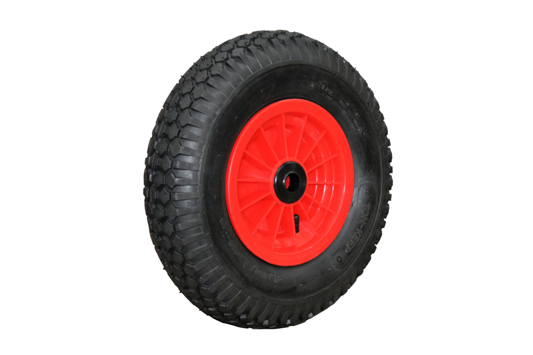 Pneumatic Wheel - Plastic Rim - 480/400x8 Diamond - PW200-400D image 0