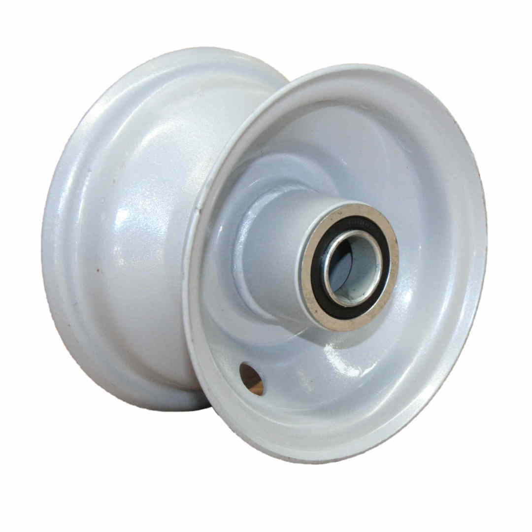 Steel Rim - 4 Inch - Low Speed Bearings - BWE100 image 0